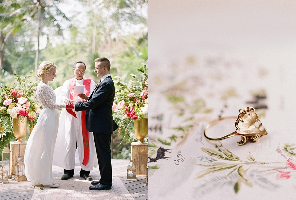 Bride and Groom and Wedding Ring | Dream Elopement In Bali By Audra Wrisley Photography