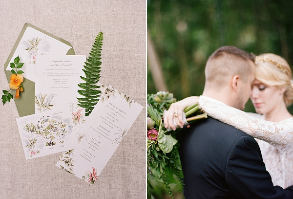 Wedding Invitation Suite and Bride and Groom | Dream Elopement In Bali By Audra Wrisley Photography