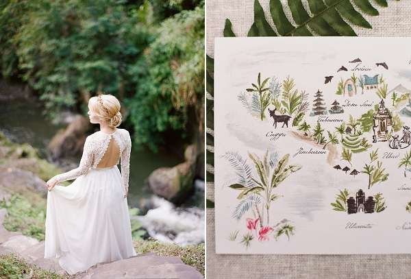 Bride and Stationery Details | Dream Elopement In Bali By Audra Wrisley Photography