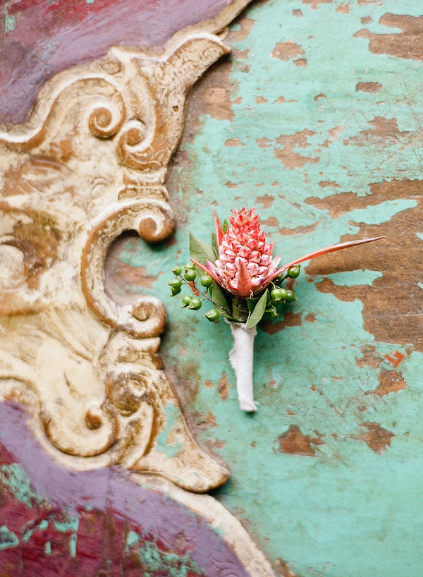 Boutonniere | Dream Elopement In Bali By Audra Wrisley Photography