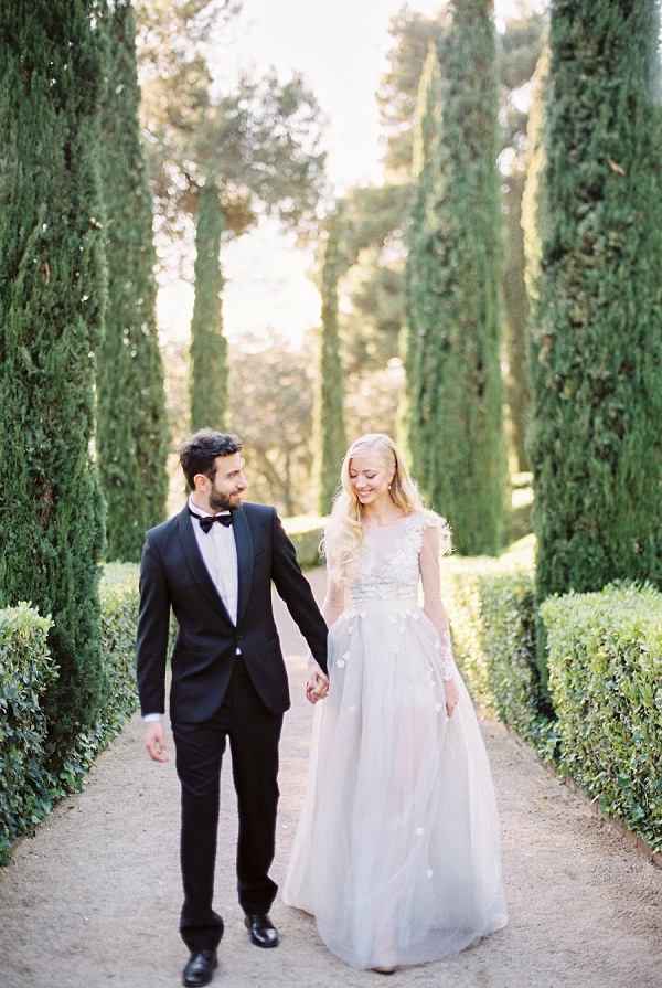 Bride and Groom in Spain | Modern Elegant Wedding Inspiration By Anna Tereshina Photography