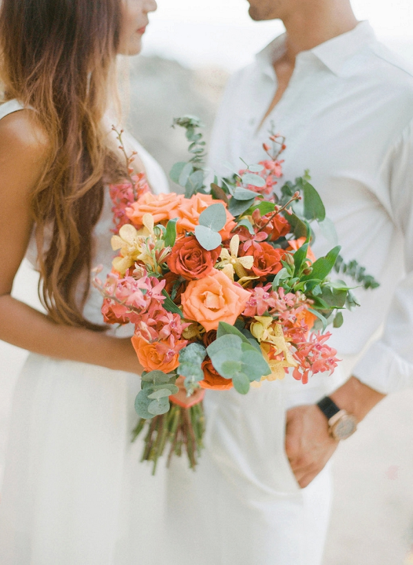 Tropical Wedding Bouquet | Tropical Luxe Wedding Inspiration in Thailand from Megan W Photography