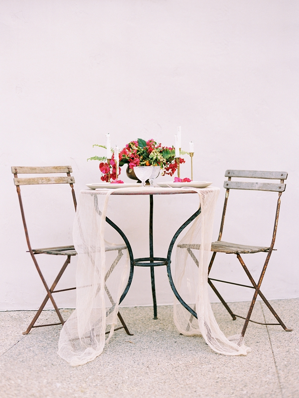 Romantic Tablescape | Old World Spanish Style Wedding Inspiration By Savan Photography