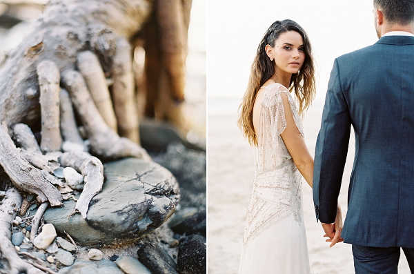 Rugged Coastal Scenery | Minimalist and Organic Coastal Wedding Ideas from Jasmine Pettersen Photography