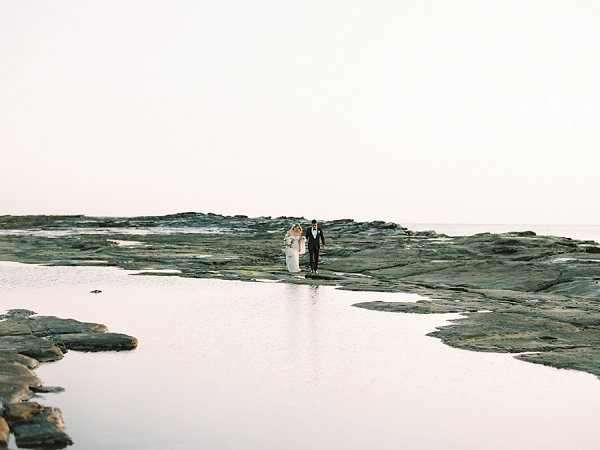 Bride and Groom Beach Portraits on the Coast in Nicaragua | Nicaragua Destination Wedding by Brumley & Wells | Fine Art Film Wedding Photography