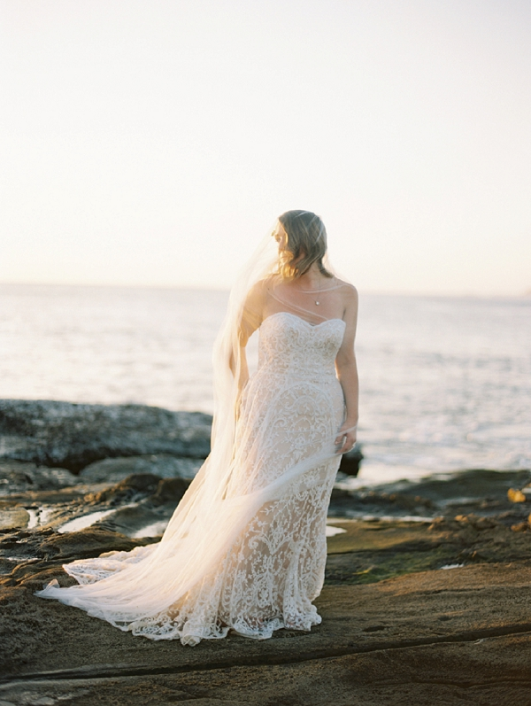 Bridal Portrait in Golden Light | Nicaragua Destination Wedding by Brumley & Wells | Fine Art Film Wedding Photography