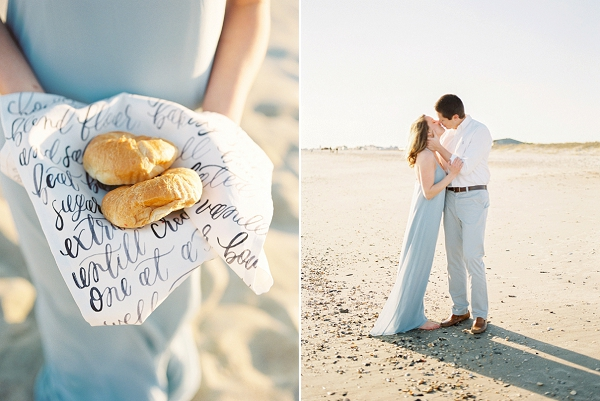 Coastal Anniversary Picnic Session by Melissa Blythe Photography