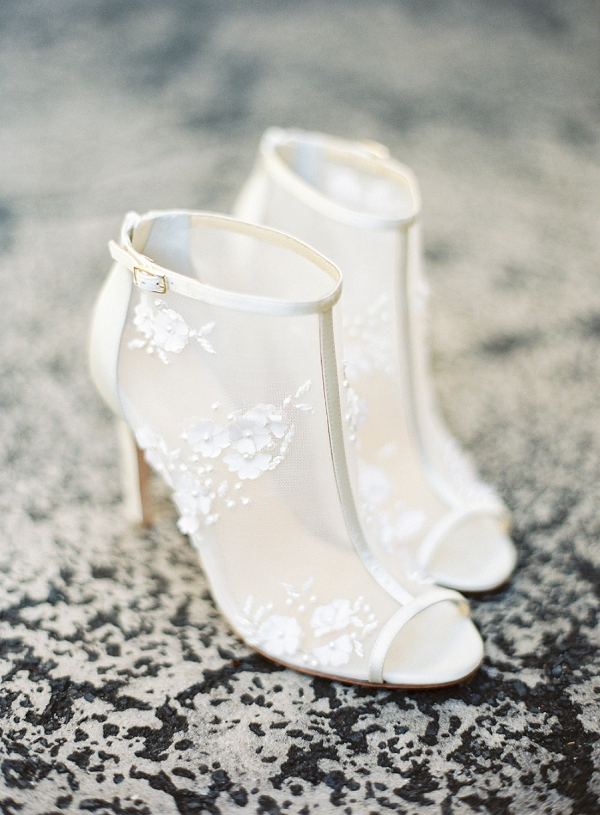 Bella Belle Wedding Shoes | Hawaii Wedding Ideas with Old World Charm from Christine Clark Photography