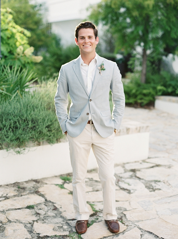Stylish Groom | Romantic Vow Renewal Wedding Inspiration in Florida from Simply Sarah Photography