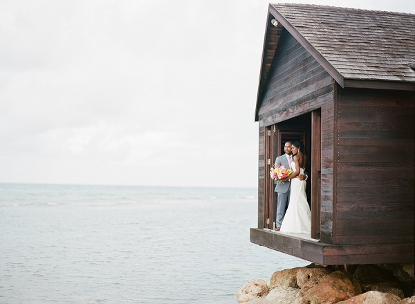 Bride and Groom in Jamaica | An Elegant Tropical Wedding In Jamaica By Fine Art Photographer Sylvie Gil Photography