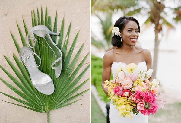 Tropical Bride in Jamaica | An Elegant Tropical Wedding In Jamaica By Fine Art Photographer Sylvie Gil Photography