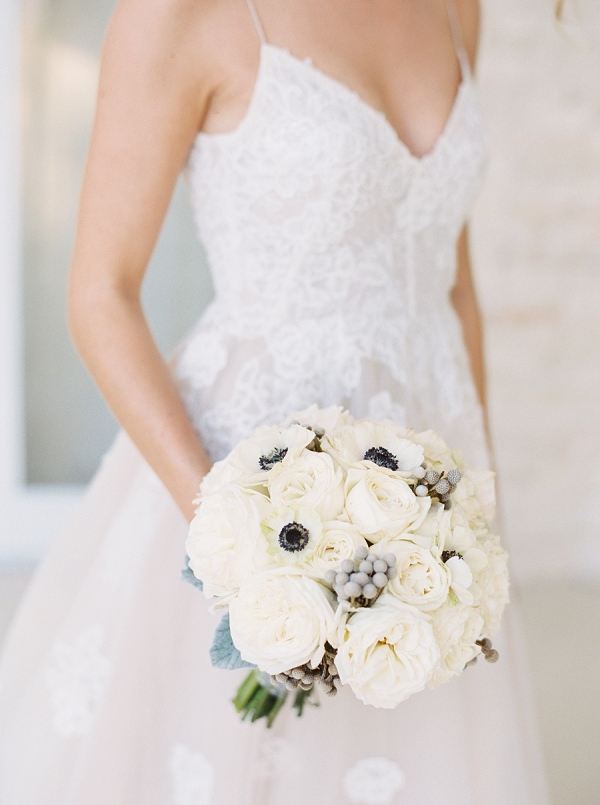 Classic White Bouquet | Islamorada Island Wedding in Florida by Shannon Moffit Photography