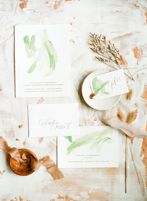 Invitation Suite | Minimalist Bridal Ideas Inspired by Nature from Pavan Floral and Lauren Bledsoe