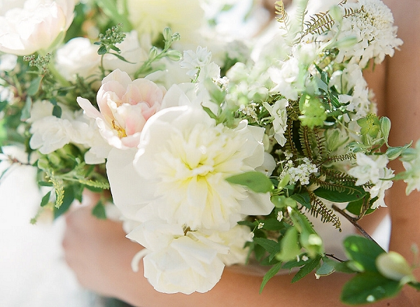 Blush Pink and Ivory Bouquet | Out Of Water Malibu Inspiration by Bonphotage Photography