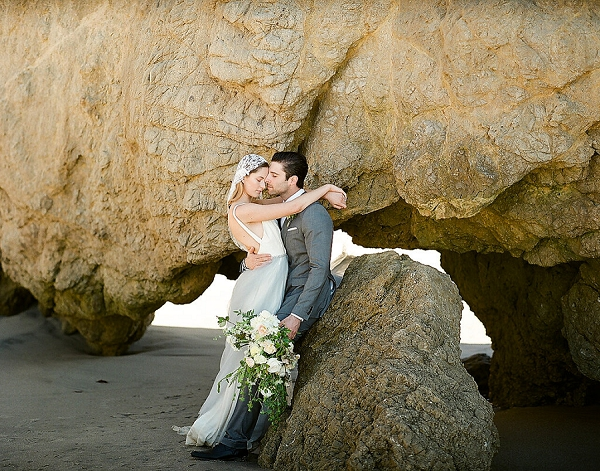Bride and Groom | Out Of Water Malibu Inspiration by Bonphotage Photography