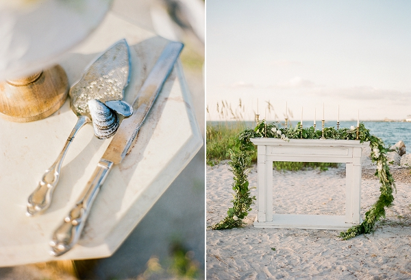 Beach Wedding Decor Ideas | Romantic Beach Wedding Inspiration by The Ganeys