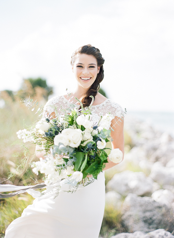 Coastal Bridal Ideas | Romantic Beach Wedding Inspiration by The Ganeys