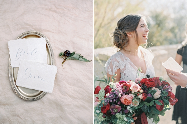Radiant Bride | Elegant Tuscan Inspired Elopement by Gaby J Photography