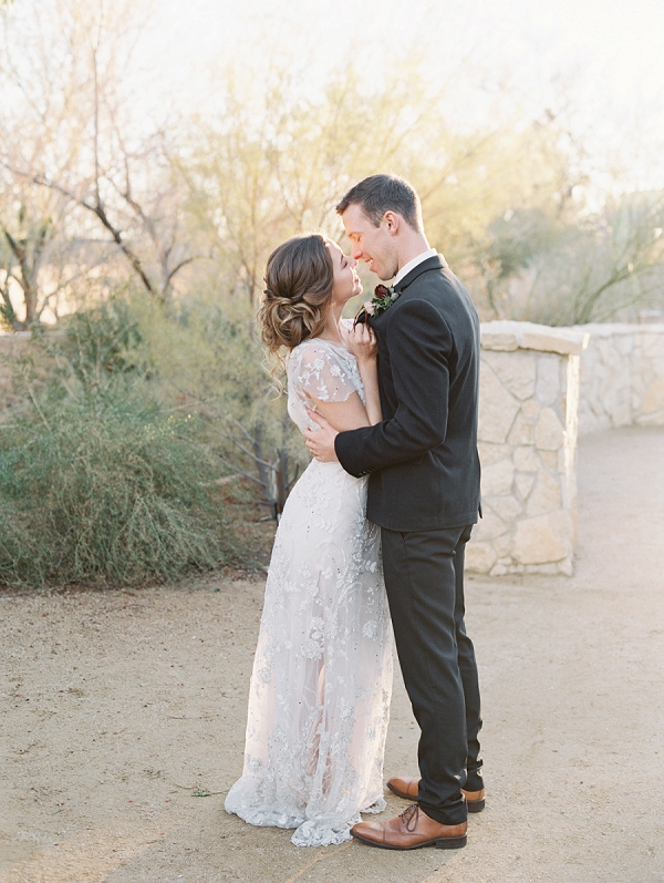 Bride and Groom | Elegant Tuscan Inspired Elopement by Gaby J Photography
