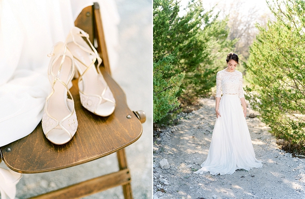 Belle Belle Bridal Shoes | Rustic and Organic Wedding Inspiration by Keestone Events and Ben Q Photography