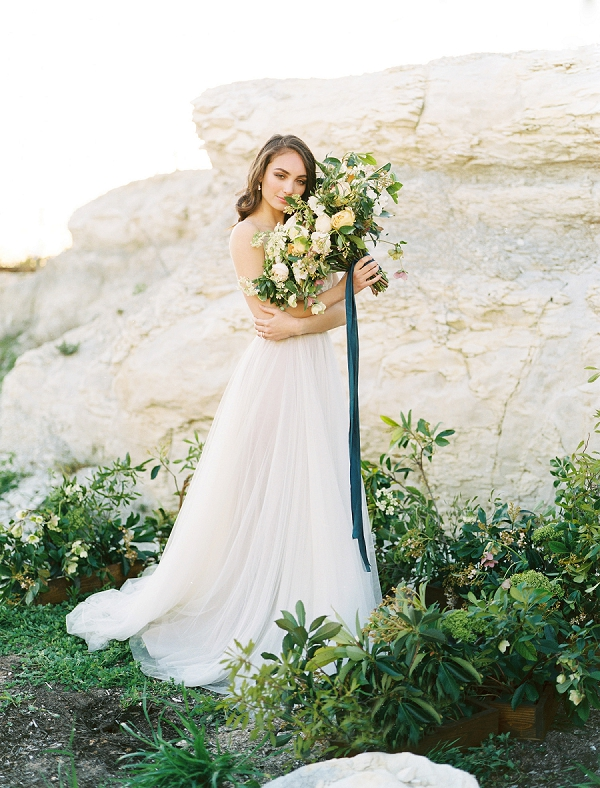 Elegant Bride | Rustic and Organic Wedding Inspiration from Keestone Events and Ben Q Photography