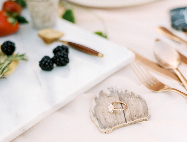 Engagement Ring | Rustic and Organic Wedding Inspiration from Keestone Events and Ben Q Photography