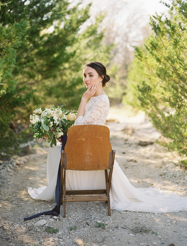 Bride | Rustic and Organic Wedding Inspiration from Keestone Events and Ben Q Photography
