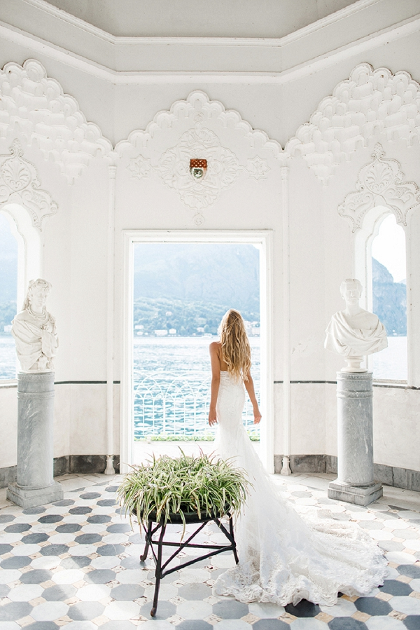 Beautiful View Overlooking Lake Como | A Sunny Wedding Celebration In Lake Como from WeddItaly and Olena Galaziuk Photography