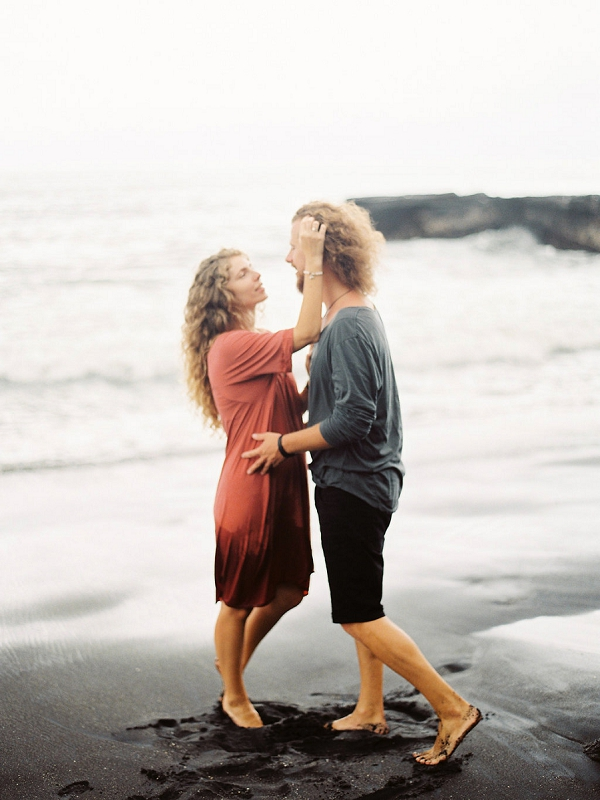 Beach Engagement Session in Bali   Relaxed and Dreamy Bali Engagement Session by Elena Pavlova