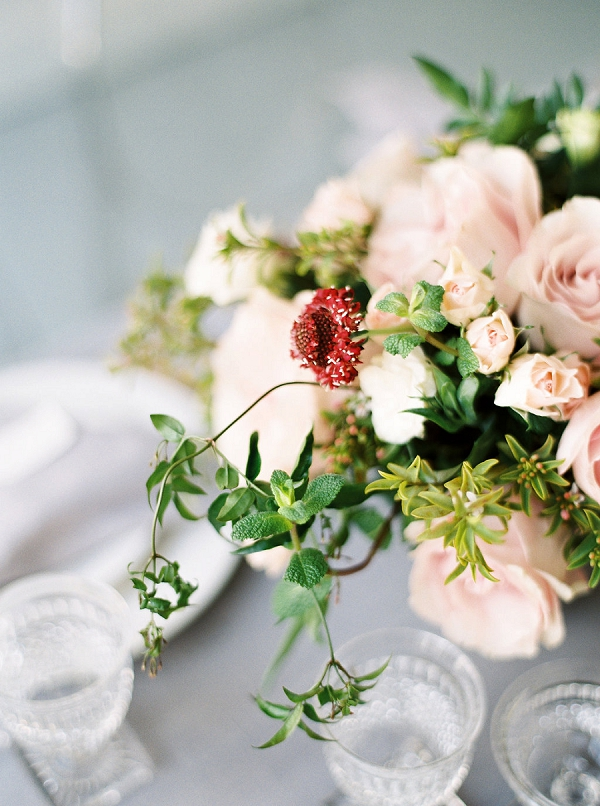 Floral Centerpiece | Modern Classic Wedding Ideas from Kristine Herman Photography