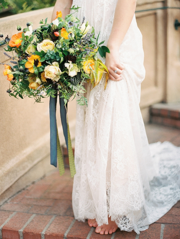 Bridal Bouquet | Romantic Early Morning Bridal Inspiration by Kristin La Voie Photography