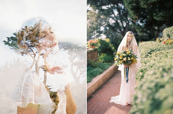 Elegant Bride | Romantic Early Morning Bridal Inspiration by Kristin La Voie Photography