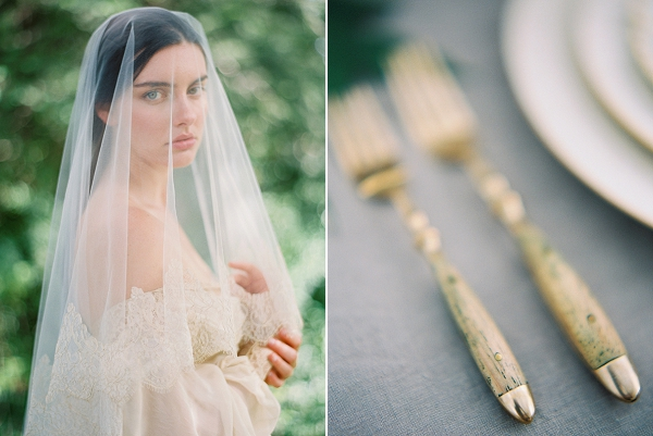 Veiled Bride | Villa Romance By Shannon Moffit Photography