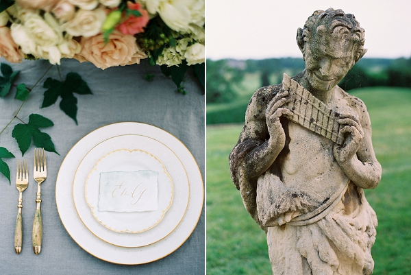 Place Setting | Villa Romance By Shannon Moffit Photography