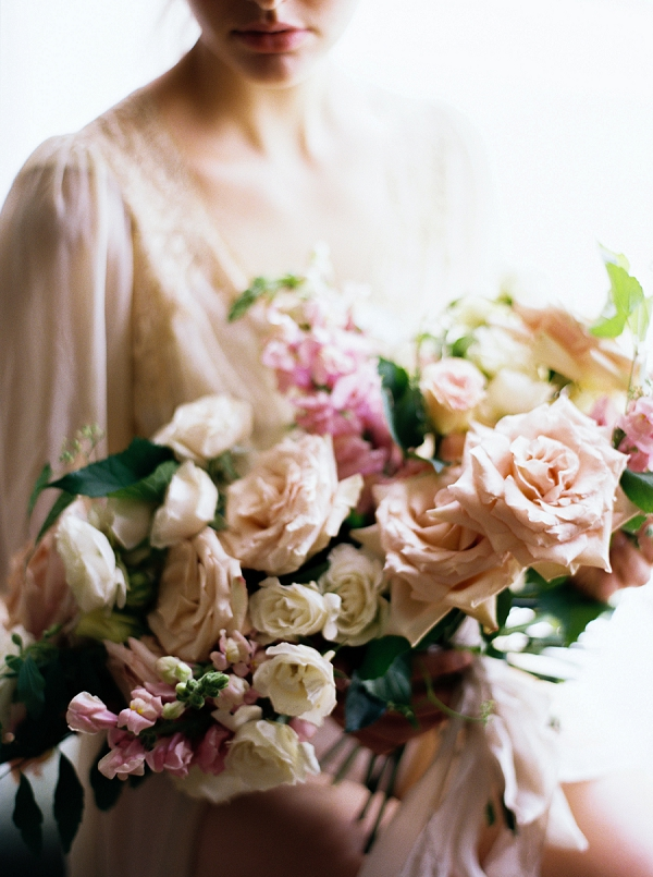 Pretty Pink Bouquet | Villa Romance By Shannon Moffit Photography