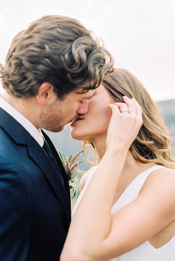 Bride and Groom Portraits | Desert and Sage Organic Wedding Inspiration from Kerry Jeanne Photography