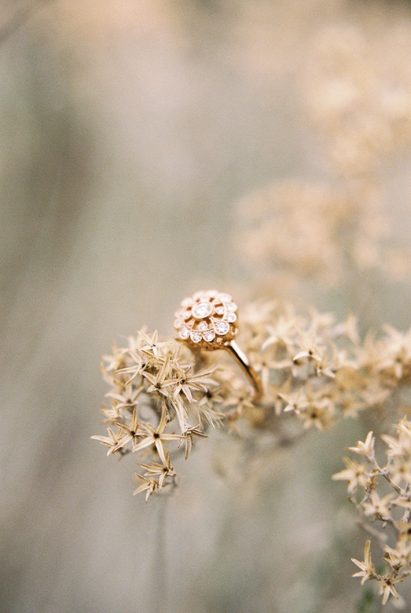 Wedding Ring | Desert and Sage Organic Wedding Inspiration from Kerry Jeanne Photography