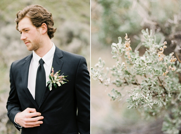 Groom | Desert and Sage Organic Wedding Inspiration from Kerry Jeanne Photography