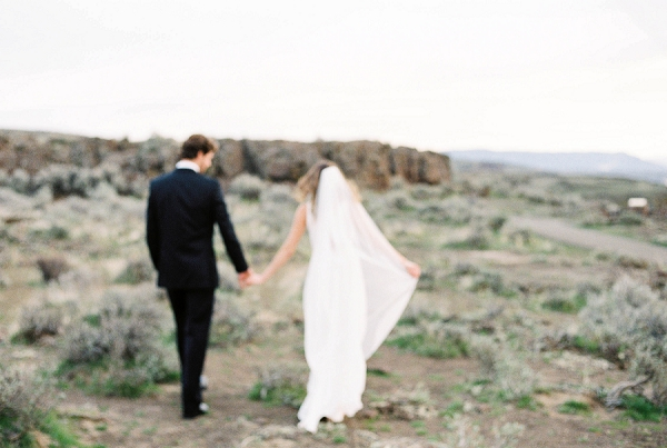 Bride and Groom | Desert and Sage Organic Wedding Inspiration from Kerry Jeanne Photography