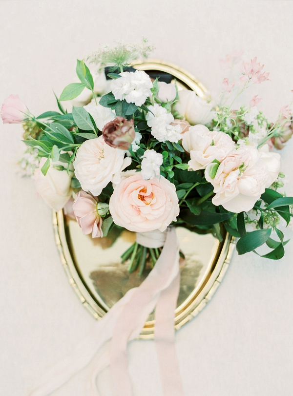 Bouquet | Elegant Wedding Inspiration in an Old World Setting by Honey Gem Creative Photography