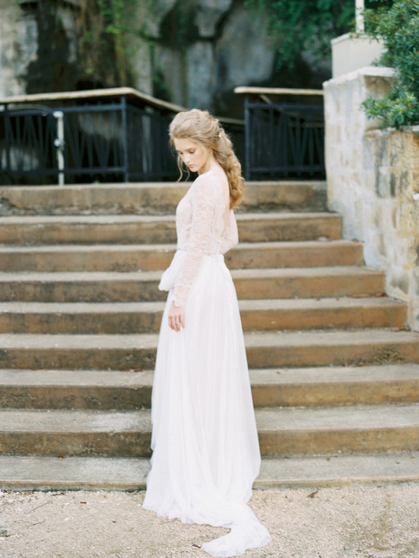 Bride | Elegant Wedding Inspiration in an Old World Setting by Honey Gem Creative Photography