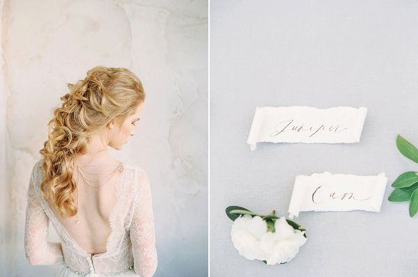 Calligraphy | Elegant Wedding Inspiration in an Old World Setting by Honey Gem Creative Photography