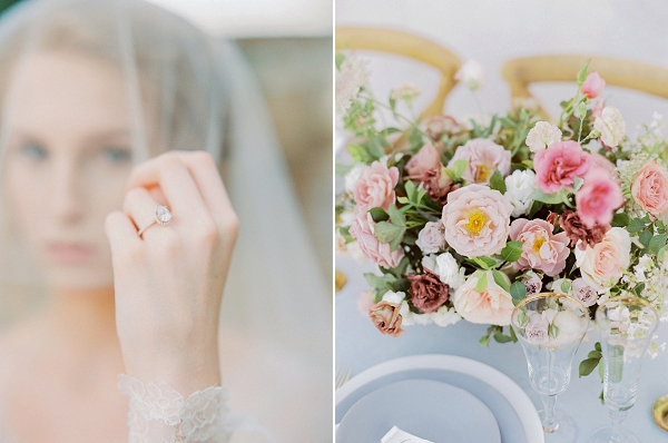 Tablescape   Elegant Wedding Inspiration in an Old World Setting by Honey Gem Creative Photography