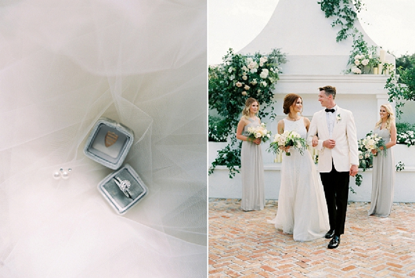 Wedding Ceremony and Rings | Elegant and Organic Wedding Ideas by Elyse Jennings Weddings and Greer Gattuso Photography