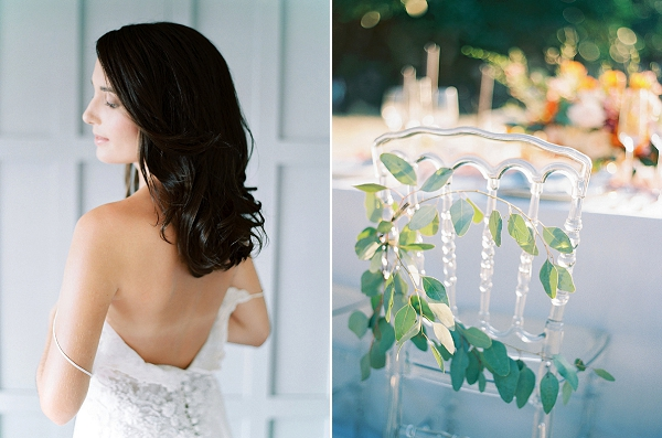 Organic Wedding Chair Decor | Tropical Elopement Inspiration by Steve Torres Photography