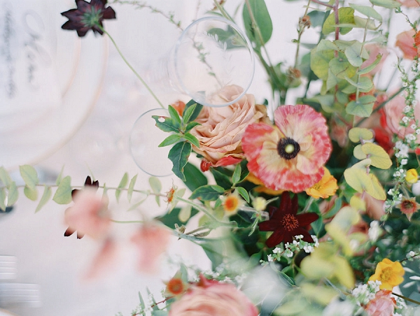 Wedding Flowers | Palace of The Fine Arts Elopement Ideas by Ivory & Vine Event Co. and Stephanie Brazzle Photography
