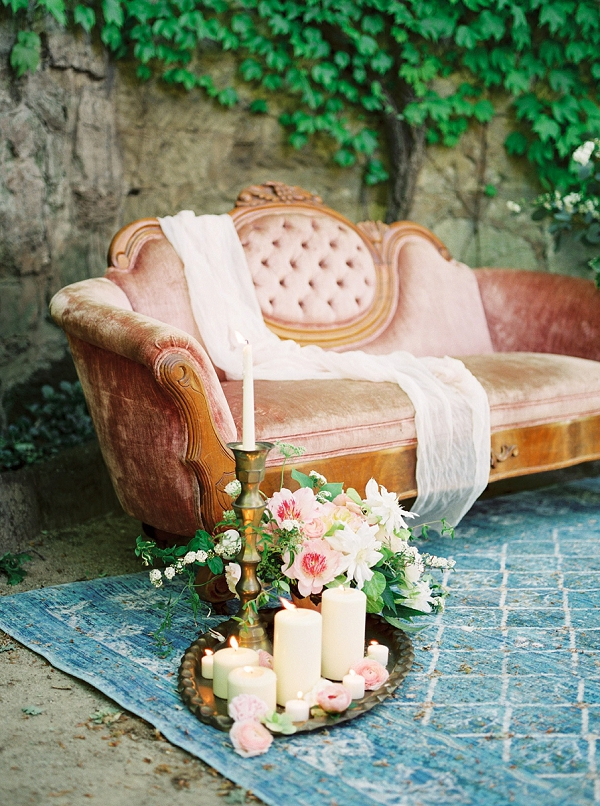 Candles and Flowers   Romantic Whetstone Winery Editorial By © Justina Bilodeau Photography