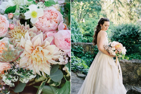 Spring Bride   Romantic Whetstone Winery Editorial By © Justina Bilodeau Photography
