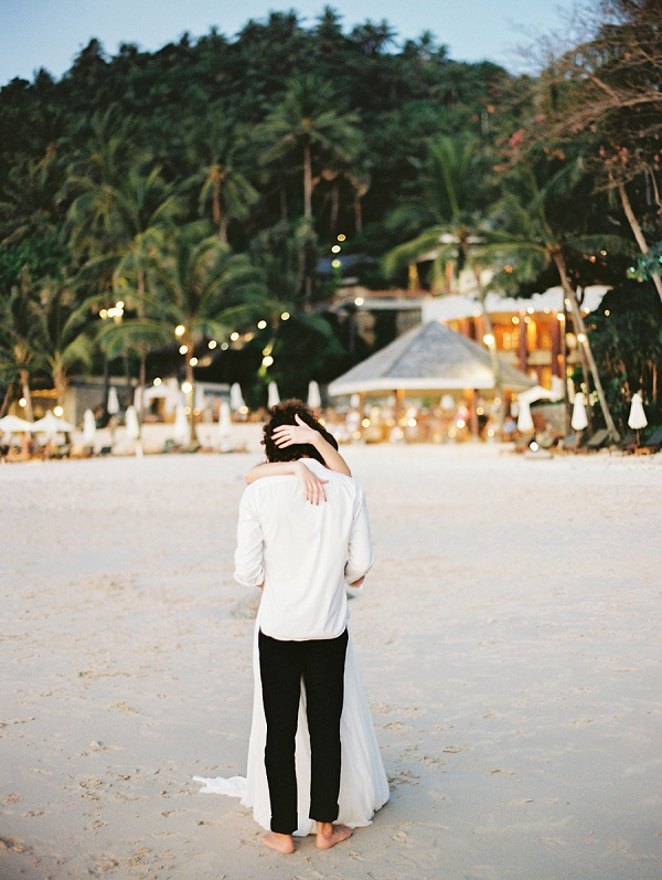 Bride and Groom | Tropical Elopement Inspiration by Steve Torres Photography