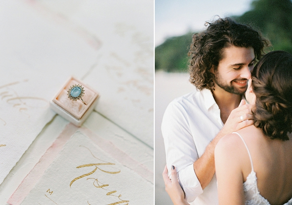 Vintage Ring | Tropical Elopement Inspiration by Steve Torres Photography